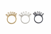 Single ruffle rings