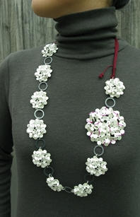 Big Flower Chaim Necklace