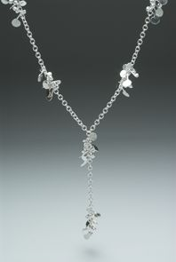 Fiona DeMarco Blossom Daisy-chain lariat style necklace