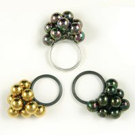 Three Bubble Rings