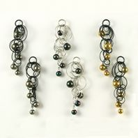 Selection of Five-Bubble Earrings
