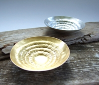 'Against the grain' Condiment dishes