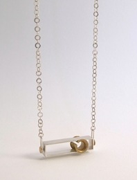 'Play' kinetic neckpiece