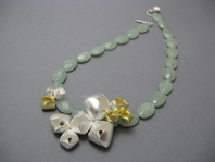 Blossom Bud Cluster Necklace