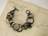 Mixed circles bracelet
