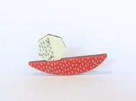 Abstract Brooch series 5