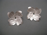Double Floral Wing Earrings