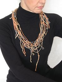 Orange Freestyle neckpiece