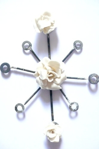 Gem Bobs- Brooch 1