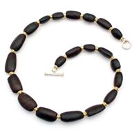 African blackwood necklace