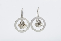 Tassel in ring earrings