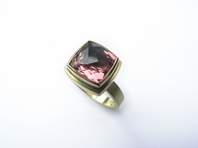 18ct gold, Pink Tourmaline