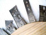 Skyline brooches