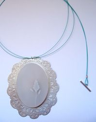 Large Cameo Pendant