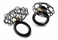 'Moving Cage' rings