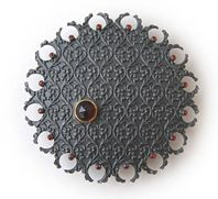 'Ornate Pattern' brooch