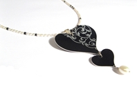 Rococco Heart Necklace