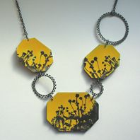 Rudbekia Necklace