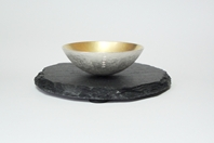 Weathered Salt Bowl