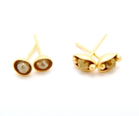 Diamond bead studs