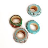 My Seoul wooden rings