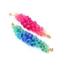 Plume Bangles - Pink Fade & Blue Fade