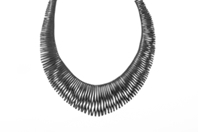 Christine Johnson black necklace