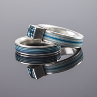 Paper and silver rings