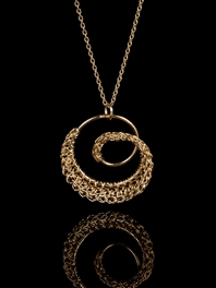 DNA 18ct Gold Pendant