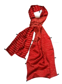 Lyrics Luxury Scarf in Silk