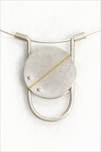 Fine Line Kinetic Neckpiece
