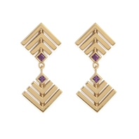 Baoli Double Drop Earrings
