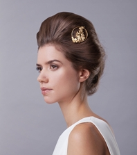 Garland hair slide