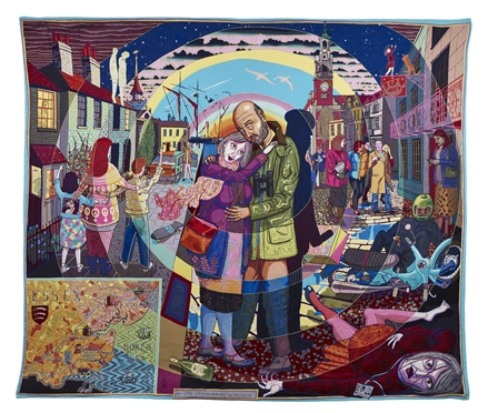 In Its Familiarity, Golden Grayson Perry