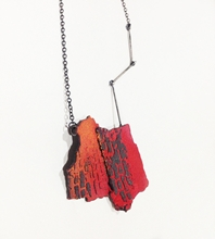 Han-Chieh Chuang Red Brick necklace