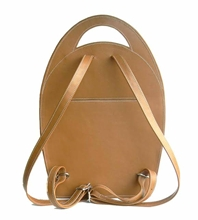 Pepe Backpack Peanut Butter leather