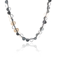 Black Preciouness Necklace Long