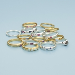 Mabel Hasell rings