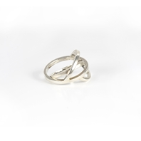 LINE HEAVY RING SILVER