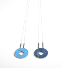 Short washer necklace