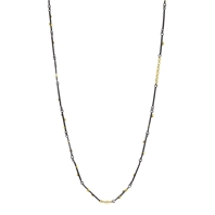 Necklace of Raw Gold Grain