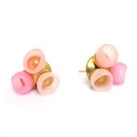 3 Cup Studs - Pastel Fade