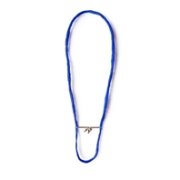 Sepiola blue necklace with 3 seeds
