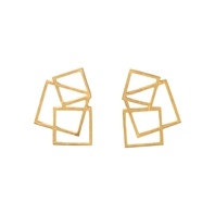 square disarray earrings