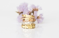 Dahlia Ring stack