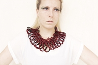 Taringa Bordeaux necklace