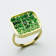 Green Grid Ring