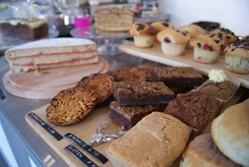 Cakes at Dovecot Cafe