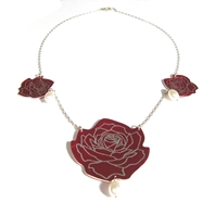 Wild Rose Necklace